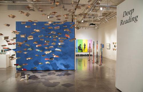 "Flights of Mind | ""Deep Reading"" The Euphrat Museum of Art, Cupertino CA"
